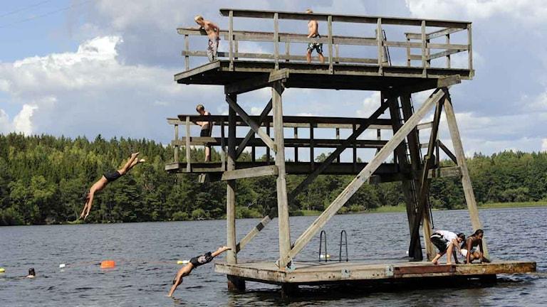 De flesta svenska badplatserna saknar livräddare. Foto: Leif R Jansson/Scanpix.