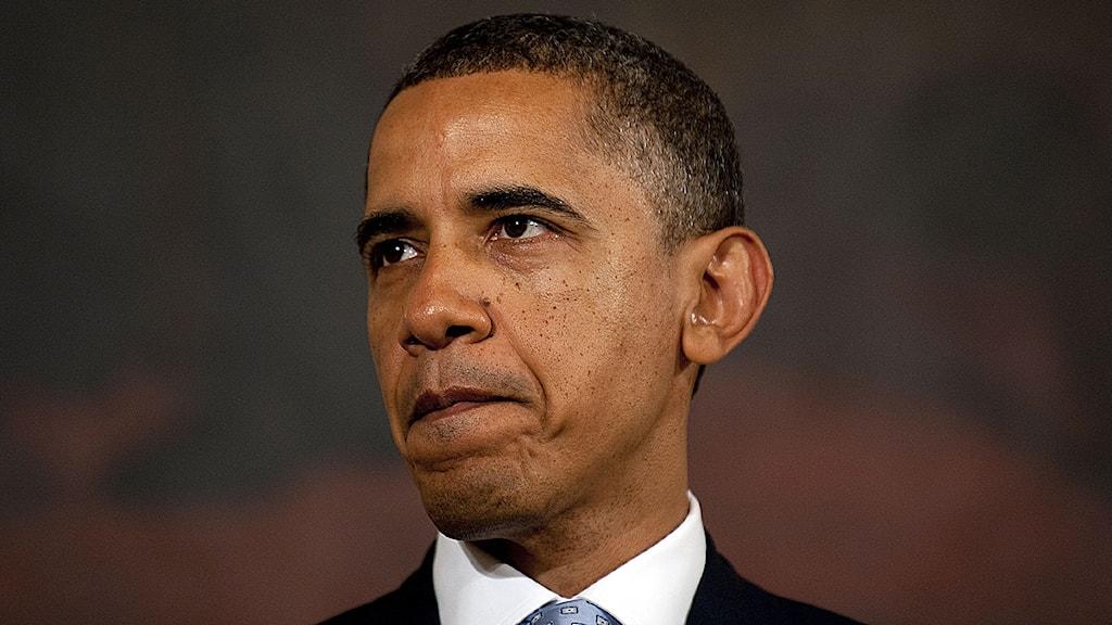 USA:s president Barack Obama. Foto: Jim Watson/Scanpix.