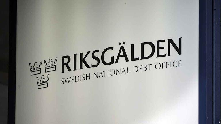 Riksgälden. Foto: Fredrik Sandberg/Scanpix
