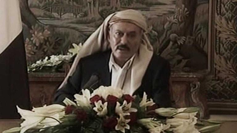 Jemens president Ali Abdullah Saleh. Foto: Scanpix.