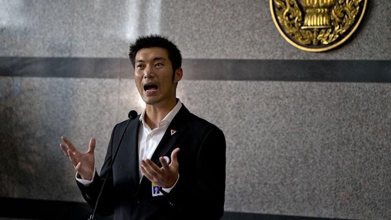 Framtidspartiets ledare Thanathorn Juangroongruangkit