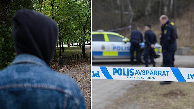 Susanne Thonberg, polisinspektör i Haninge, utanför Stockholm, säger att många ungdomsrån sker med riktigt pennalistiska metoder.