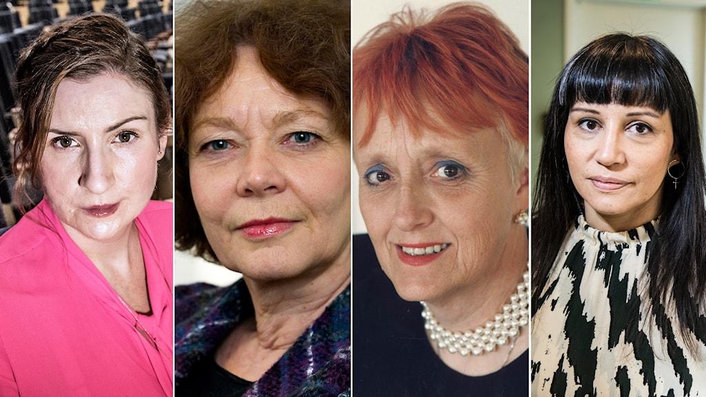Birgitta Ohlsson, Maria Leissner, Lena Rådström Baastad och  Rossana Dinamarca är några av politikerna som undertecknat upproret.