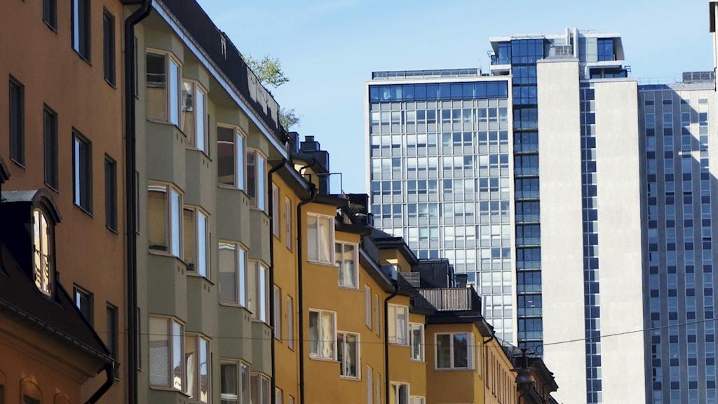 Skatteskrapan på Södermalm som pekas ut som misstänkt bordell