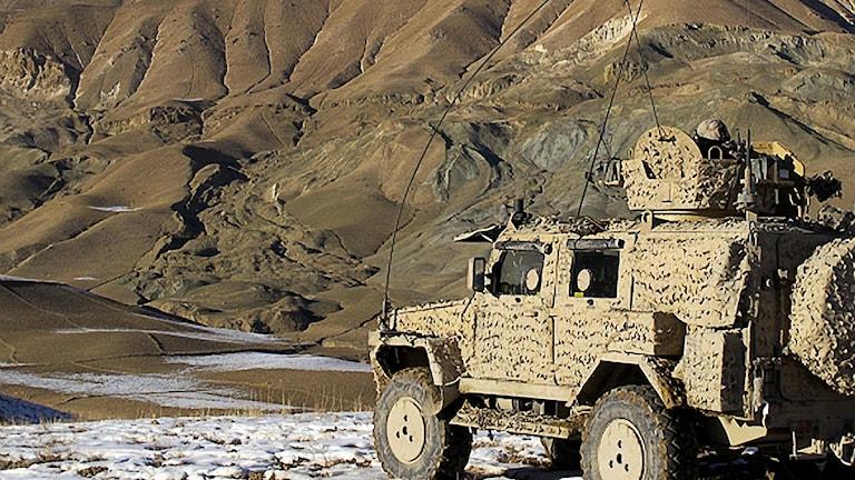 Svensk trupp från FS20 förbereder operation tillsammans med afghanska säkerhetsstyrkor. Foto: FS20/Försvarsmakten.