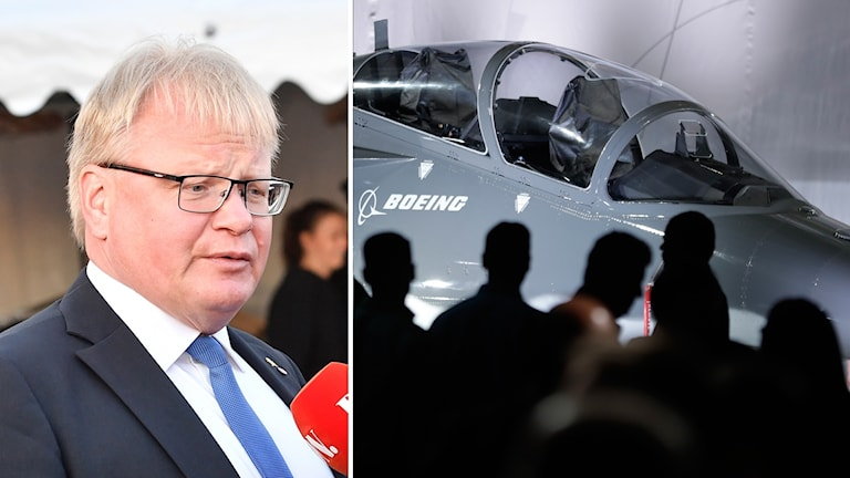 Peter Hultqvist iyo qandaraaska saab boeing