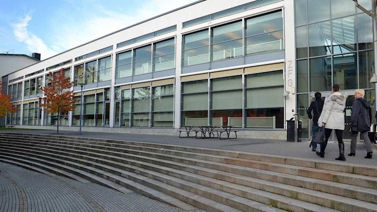 Lärarhögskolan i Stockholm. Foto: Amanda Hansell/Sveriges Radio.