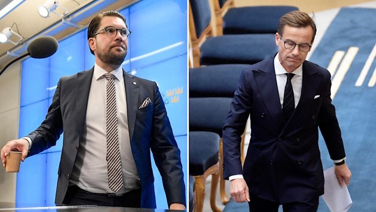 Jimmie Åkesson och Ulf Kristersson