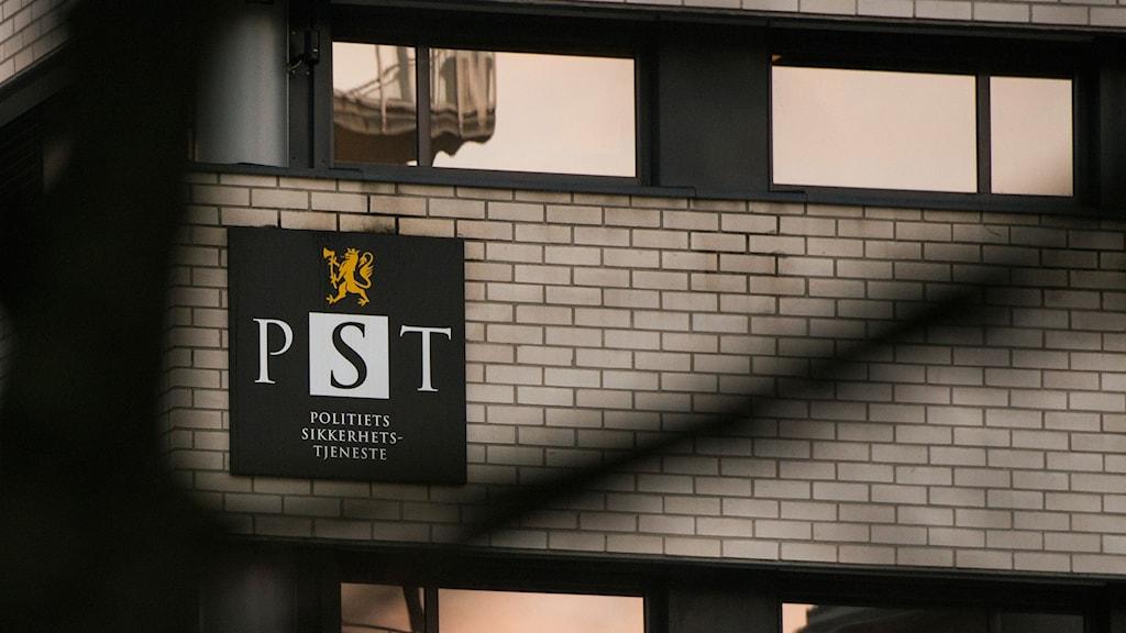 Politiets sikkerhetstjeneste, PST, i Oslo.