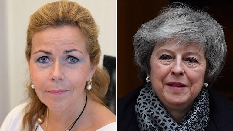 EU-parlamentarikern Cecilia Wikström riktar hård kritik mot premiärminister Theresa May.
