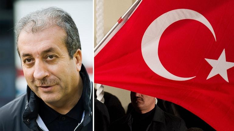 Den turkiska politikern Mehmet Mehdi Ekers.