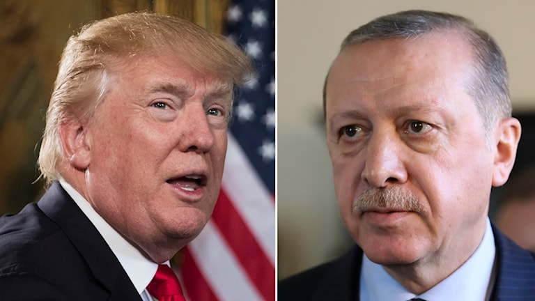 Donald Trump och Recep Tayyip Erdoğan