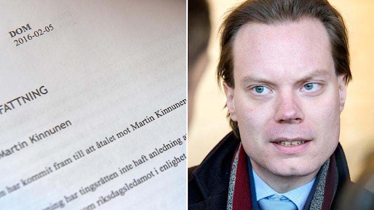 SD:s riksdagsledamot Martin Kinnunen står åtalad för grovt skatte- och bokföringsbrott.