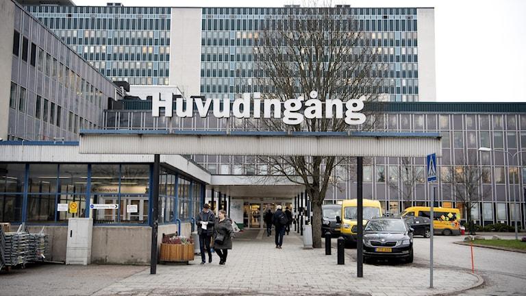 Danderyds sjukhus.