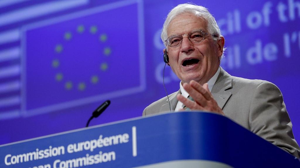 EU:s utrikeschef Joseph Borell.