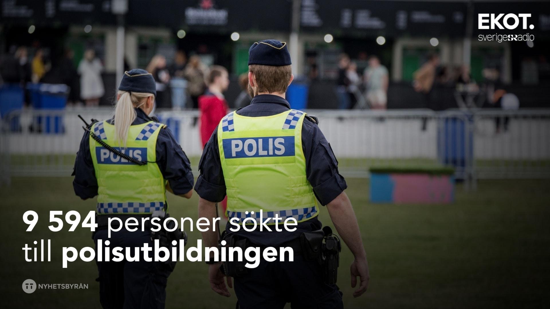 Polisen har borjat tanka pa politiken