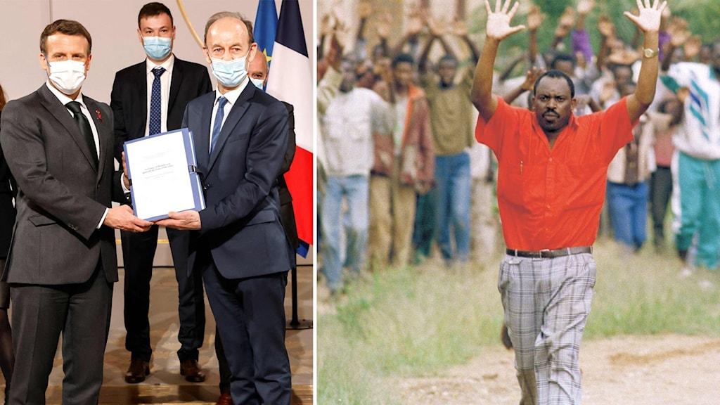 Frankrike deltog inte i folkmordet men bär ett förkrossande ansvar för det, enligt en rapport.
