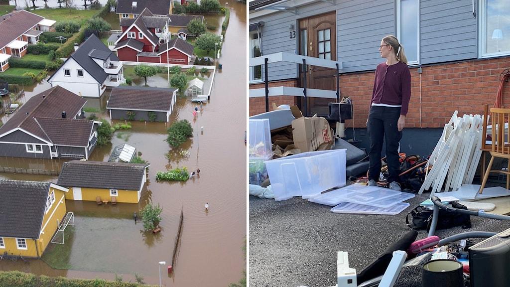 """VA-nätet klarar inte allt, mer klimatanpassning behövs"""", säger Magnus Bäckström, expert på rörnät vid Svenskt Vatten."""