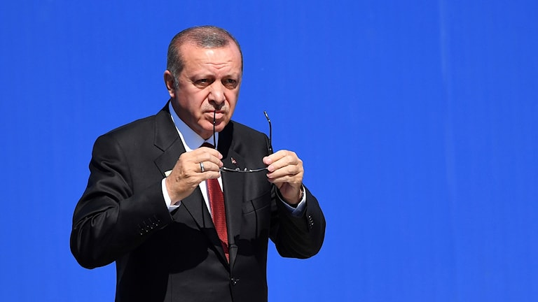 Turikiets president Recep Tayyip Erdogan