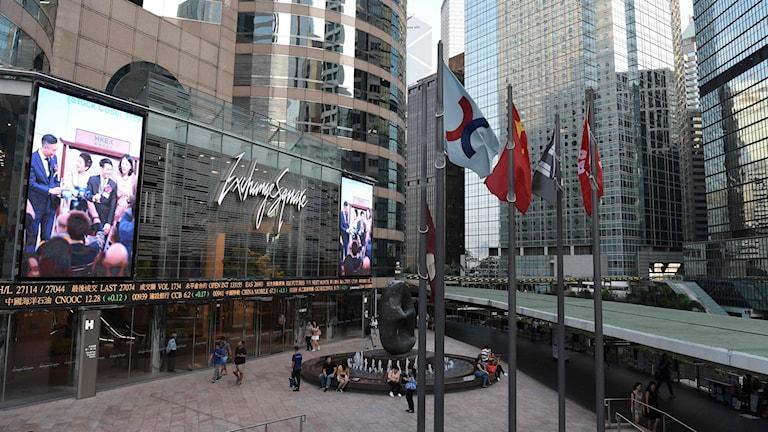 Hongkongbörsen.