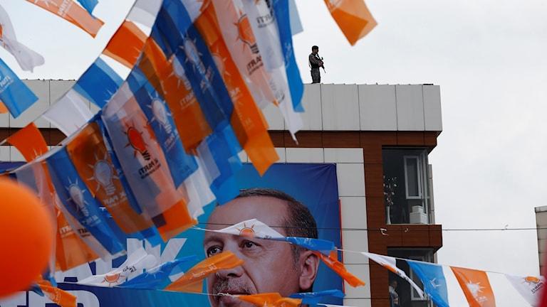 Inför valet i Turkiet. Foto: Lefteris Pitarakis/TT.