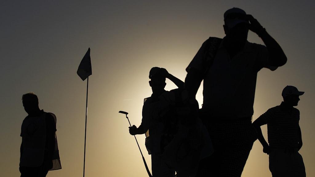 Golfare i Portugal.