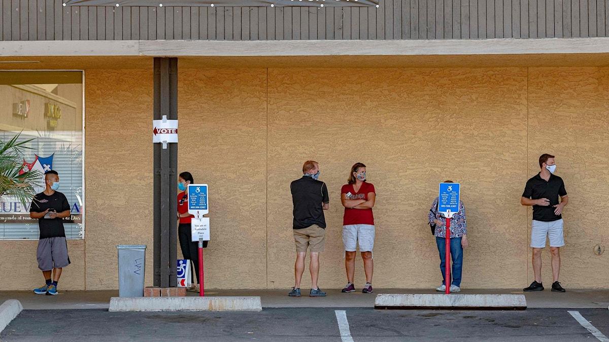 Vallokal i Scottsdale, Arizona.
