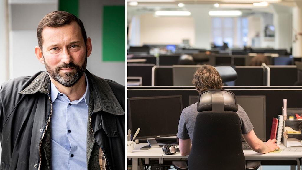 Stefan Koskinen, förbundsdirektör för Almega Tjänsteföretagen.