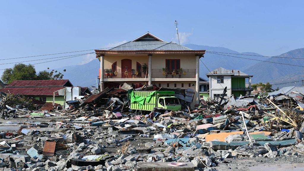 Dödssiffran befaras stiga i Sulawesi