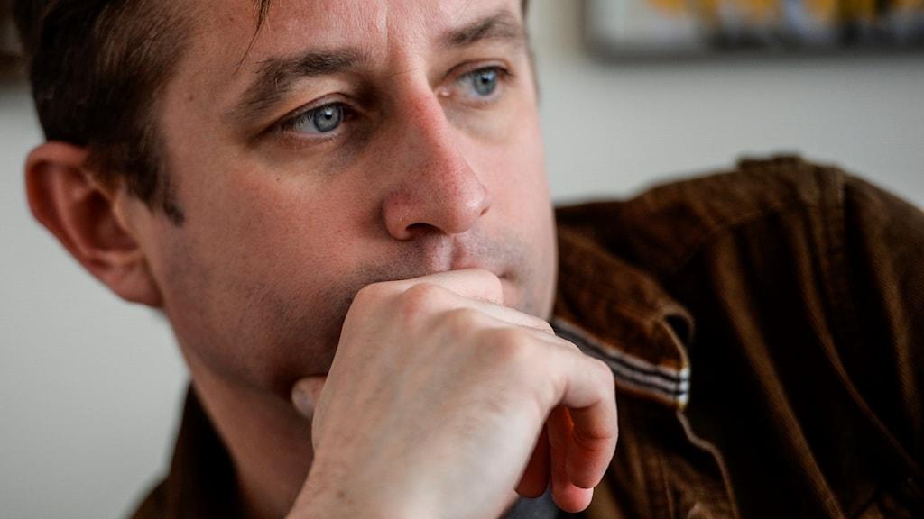 """Den ukrainske Serhij Zjadan har blivit en av sitt lands tongivande författare med sin """"proletärpunk""""-litteratur - ofta i polemik med regeringen"""
