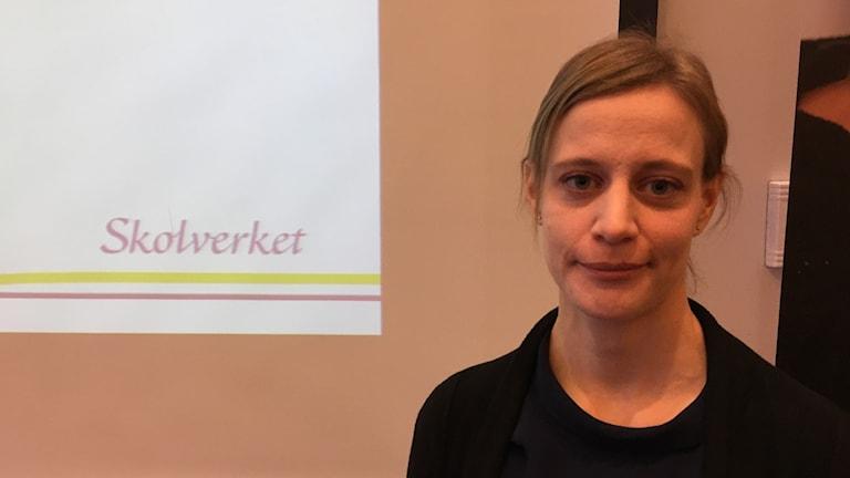 Elina Ekberg, projektledare på Skolverket.