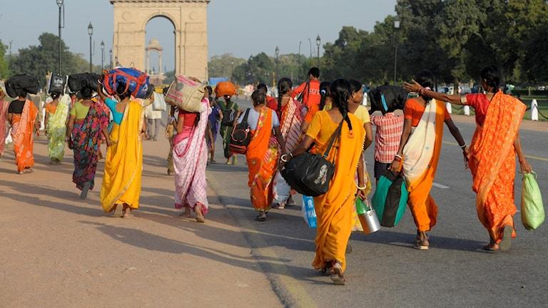 Indiska kvinnor