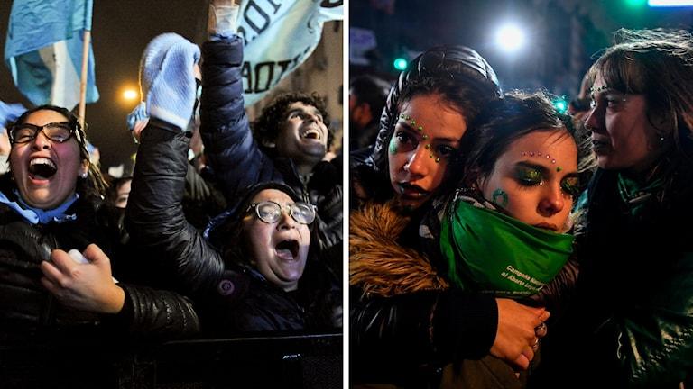 abortmotståndare firade och abortförespråkare sörjde beslutet om att inte lätta på de hårda abortreglerna i landet.