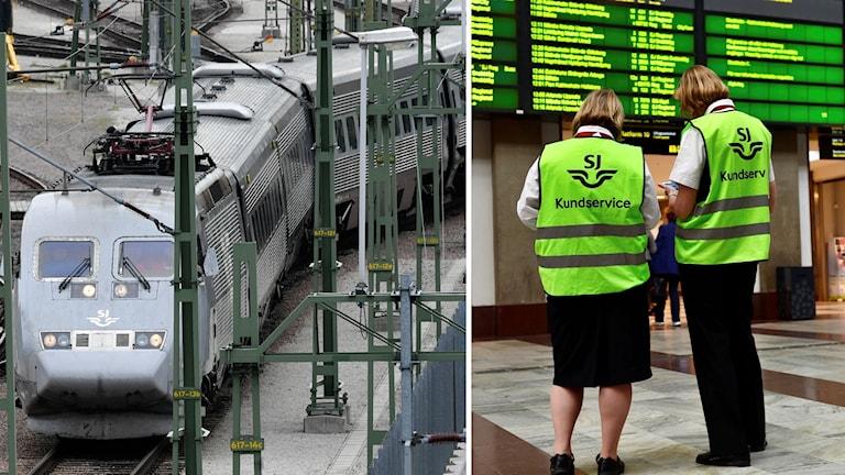 Tåg och människor