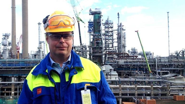 Arkivbild på Peter Abrahamsson som är affärsområdeschef för raffinering vid Preem.