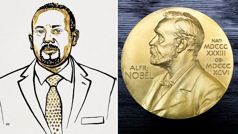 Abiy Ahmed, Etiopiens premiärminister, är 2019 års Nobels fredspristagare