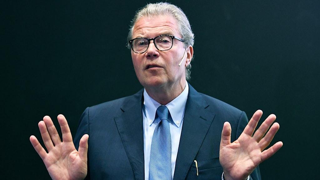 Leif Johansson, styrelseordförande för Astra Zenecas