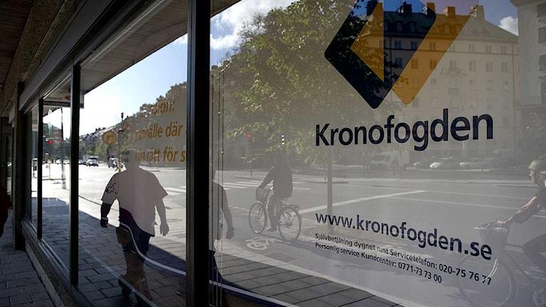 Kronofogden på Birger Jarlsgatan i Stockholm. Foto: Jessica Gow / Scanpix