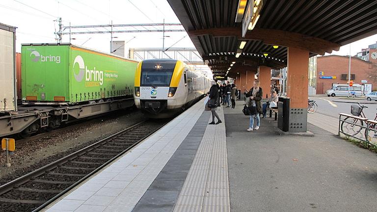 Trafikverket satsar för att undvika kaos i tågtrafiken i vinter. Foto: Alexandra Svedberg/Sveriges Radio.