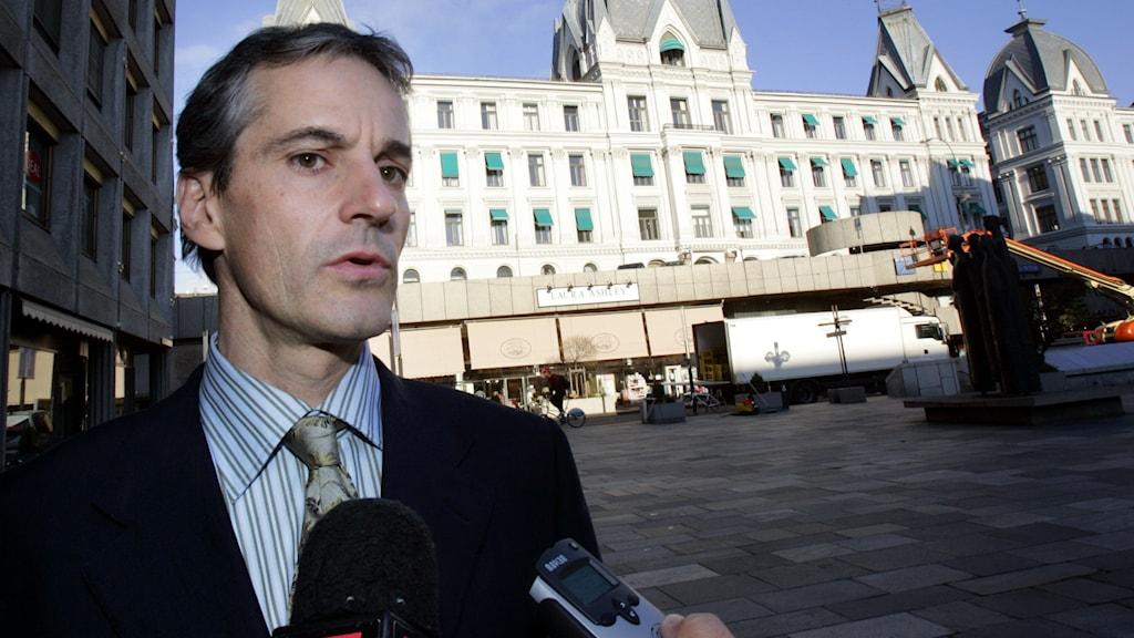 Dåvarande utrikesminister Jonas Gahr Støre.