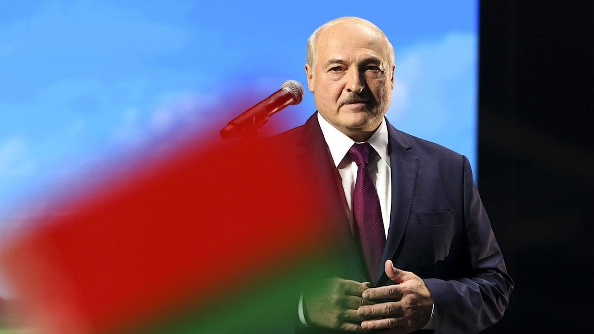 Belarus president Alexander Lukasjenko