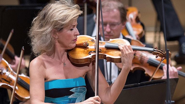 Anne-Sophie Mutter tilldelas Polar Music Prize.