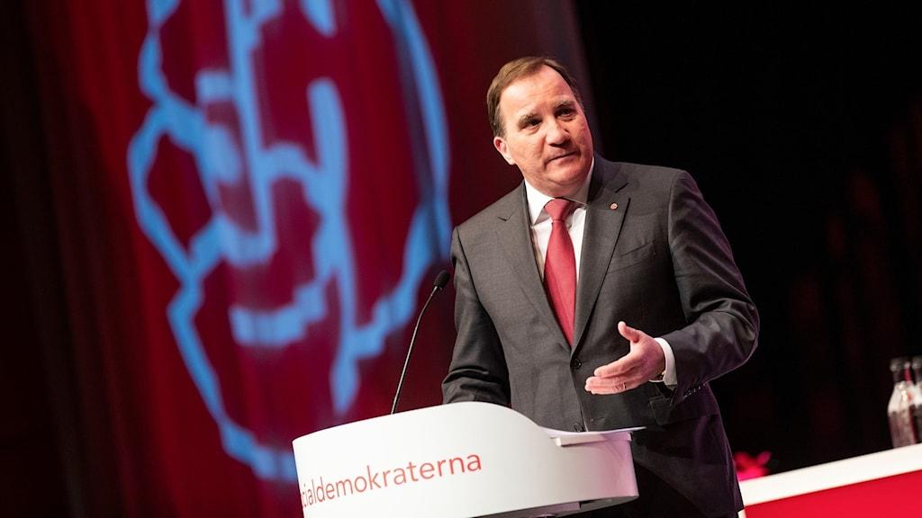 Socialdemokraternas partiledare Stefan Löfven.