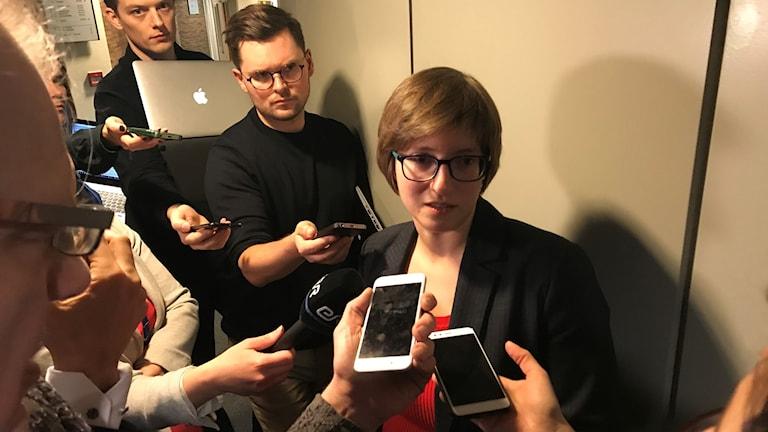 Julia Reda, tysk piratpartist, säger att användare kommer att blockeras på grund av upphovsrättsreglerna.