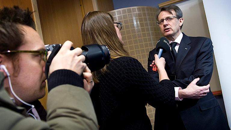 Anders Sundström är vd för Folksam. Foto: Claudio Bresciani/Scanpix.