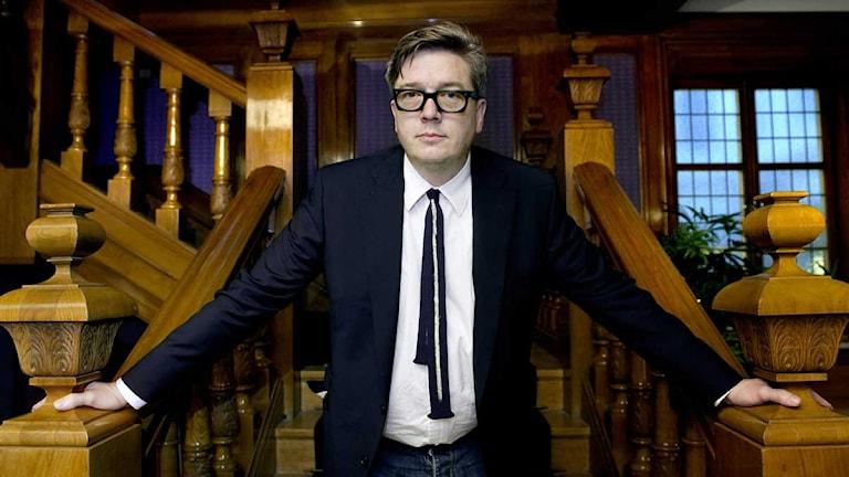 "Regissören Tomas Alfredson som gjort filmen ""Tinker, tailor, soldier, spy"". Foto: Claudio Bresciani/ Scanpix."
