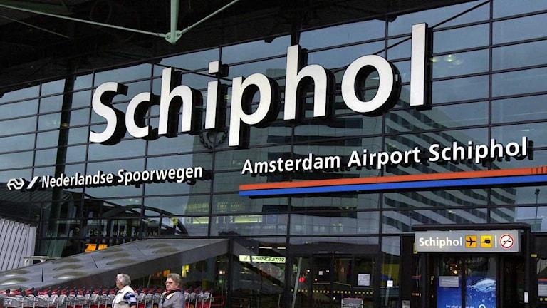 Flygpolatsen Schiphol i Amsterdam. Foto: Erlend Aas/Scanpix.