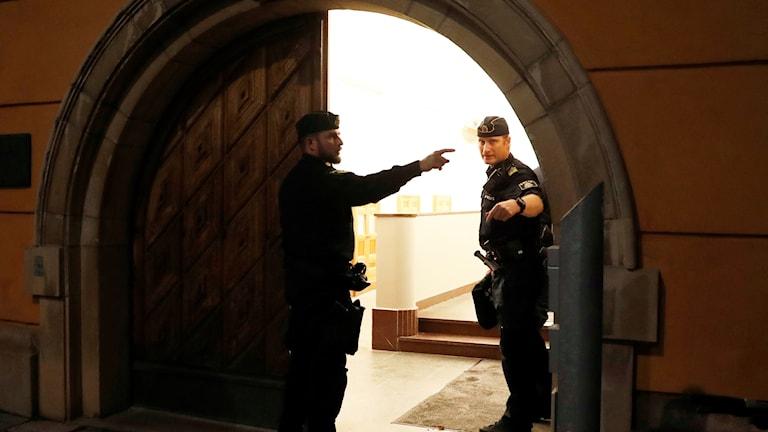 Stockholms tingsrätt Terrorrättegång