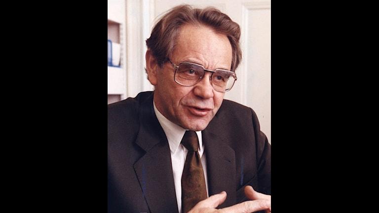 Bertil Fiskesjö (C), fd riksdagsledamot. Arkivbild från 1990. Foto: Scanpix.