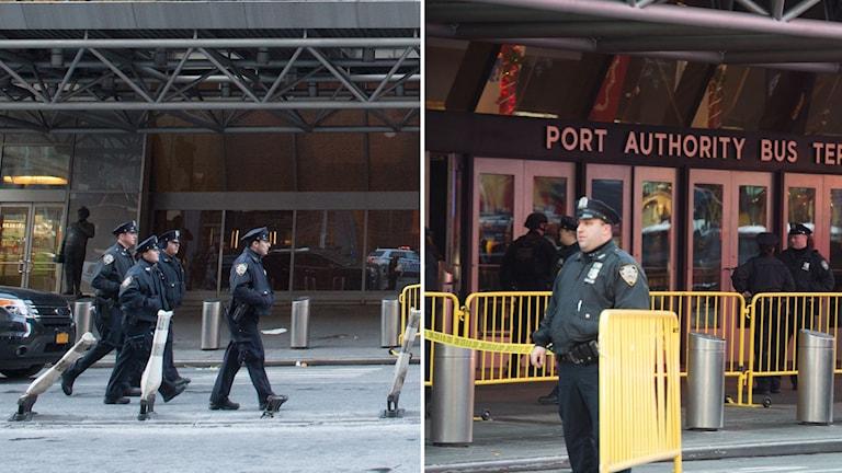 Poliser i New York